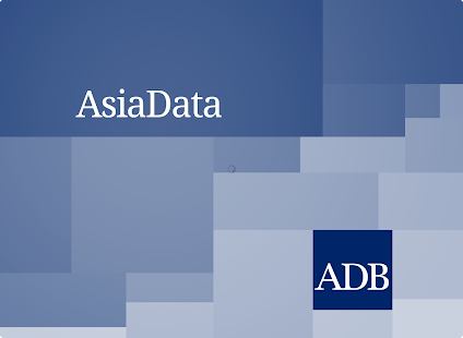 ADB's AsiaData- screenshot thumbnail