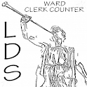LDS Ward Clerk Counter icon