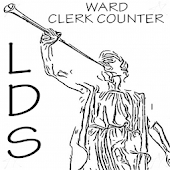 LDS Ward Clerk Counter