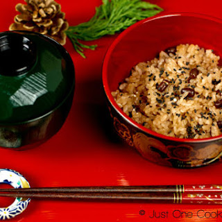 Sekihan (Japanese Azuki Beans & Rice)