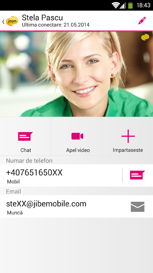 joyn by Telekom - screenshot