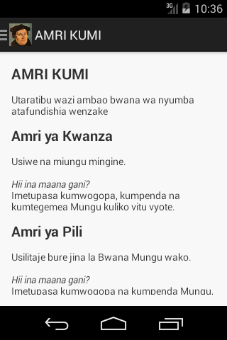 Katekisimo Ndogo
