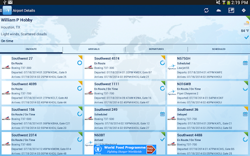 FlightAware Flight Tracker- screenshot thumbnail