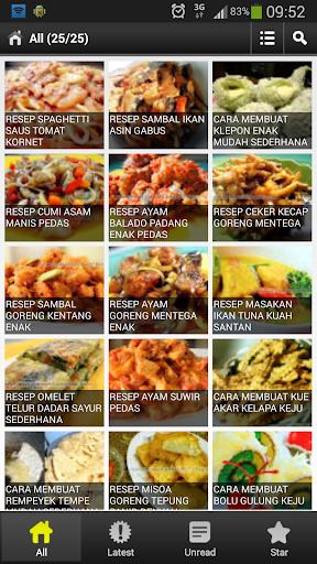 Resep Masakan 2014