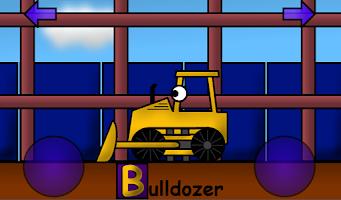 Screenshot of Construction Alphabet for Kids