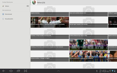 Futbol Mexicano - screenshot thumbnail