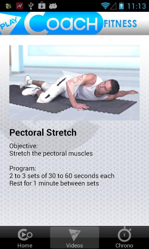 Stretching for Sports- screenshot