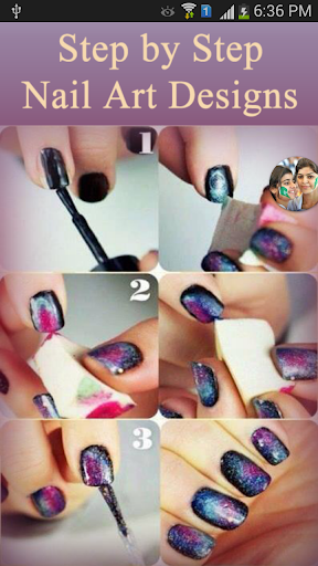 Step by Step Nail Art Designs