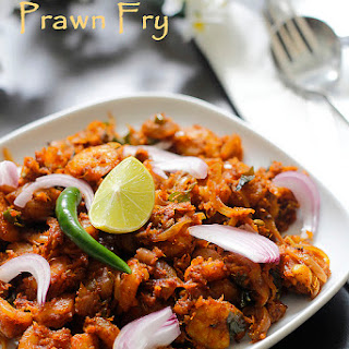 Prawn Fry in Andhra Style