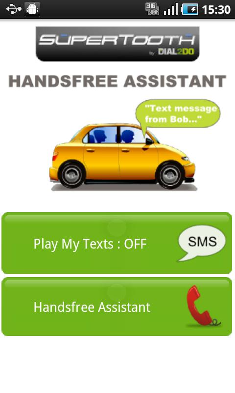 SuperTooth HandsFree Assistant - screenshot