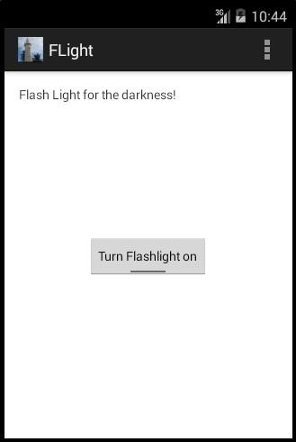 Simple Flash Light