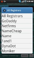 Screenshot of Domain Coupons by DPM