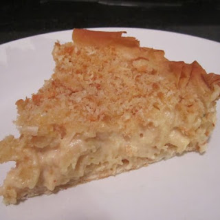 Mac and Cheese Pie.