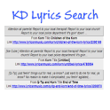 KD Lyric Search icon