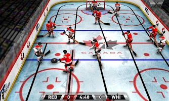 Screenshot of Team Canada Table Hockey