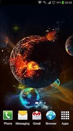 Deep Space 3D Pro lwp Screenshot 4