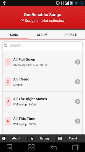 OneRepublic Song Lyrics