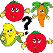 Veggie Fun Memory for Kids