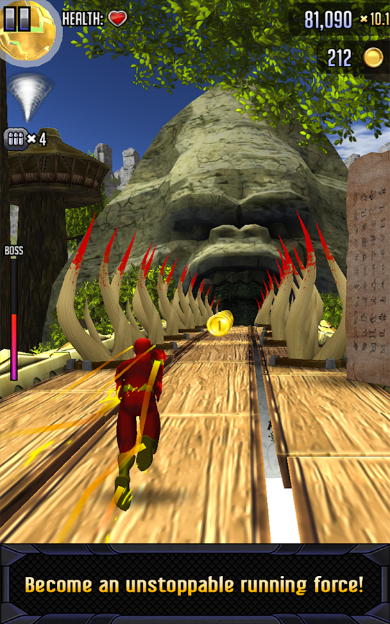 Batman & The Flash: Hero Run v2.0 MOD APK