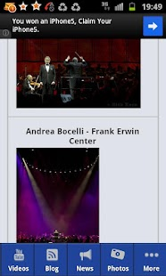 Andrea Bocelli - screenshot thumbnail