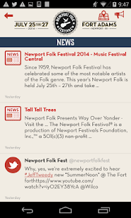 Newport Folk Festival - screenshot thumbnail