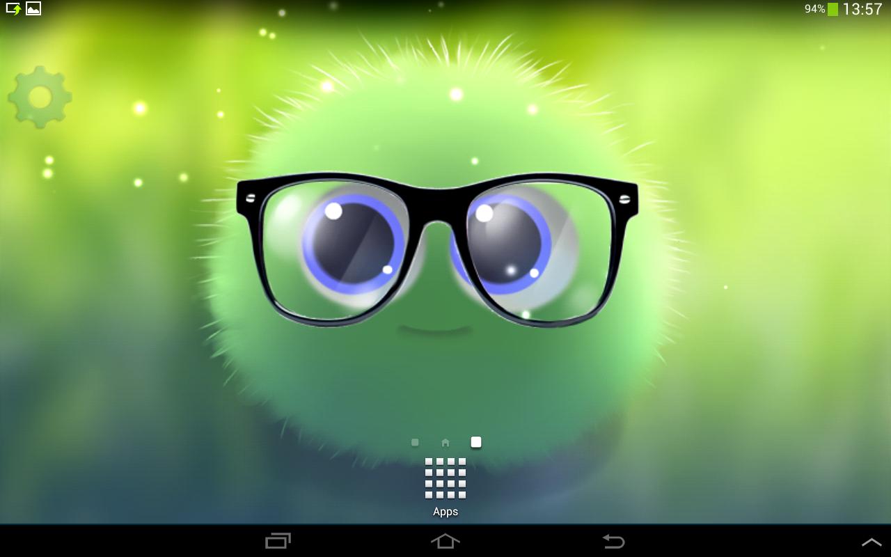 Wallpaper download karne ka app - Fluffy Chu Live Wallpaper Screenshot