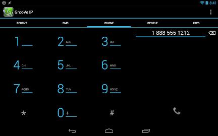 GrooVe IP - Free Calls Screenshot 7