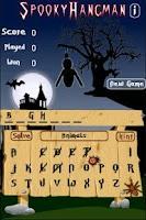 Screenshot of Spooky Hangman
