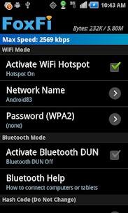 FoxFi (WiFi Tether w/o Root) 1