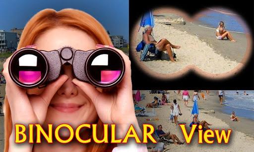 Binoculars : Zoom