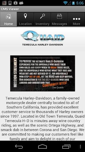 Quaid Temecula Harley-Davidson