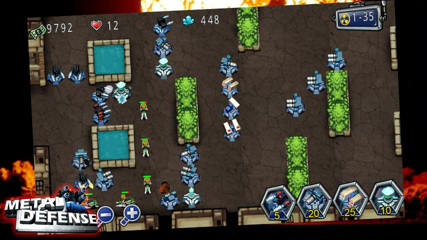 Metal Defense - screenshot