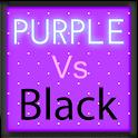 Pretty Purple vs Black Theme icon