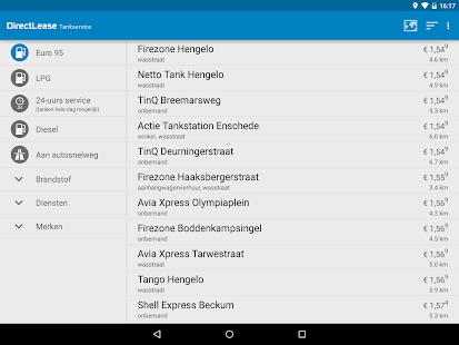 DirectLease Tankservice - screenshot thumbnail