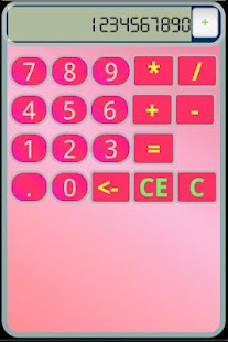 PinkCalc [CALCULATOR]- screenshot thumbnail