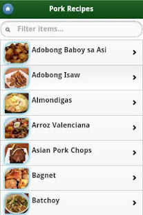 Pinoy food recipes apps on google play screenshot image forumfinder Gallery