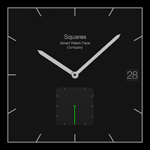 Watch Face for Wear – Squares