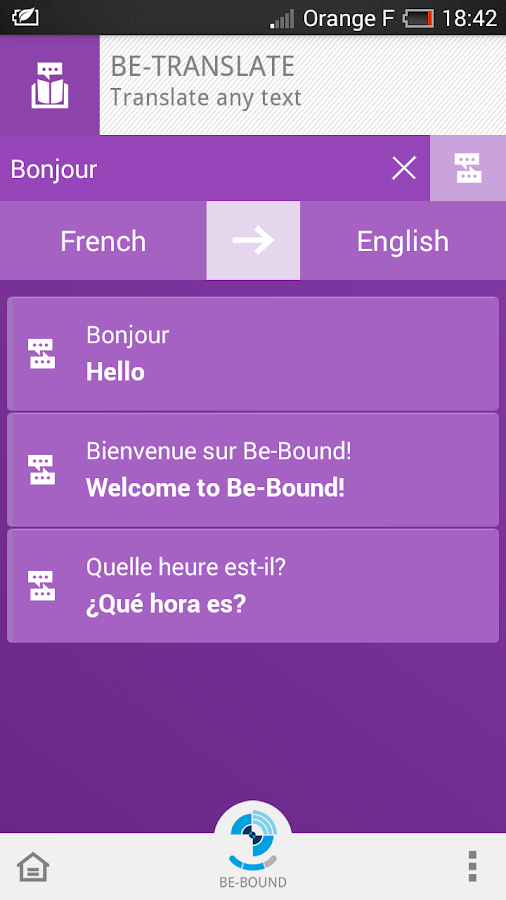 Be-Bound®:  Stay Connected - screenshot