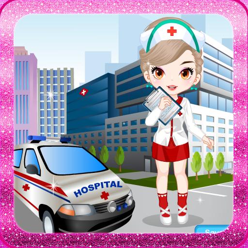 游戏的女孩护士 LOGO-APP點子