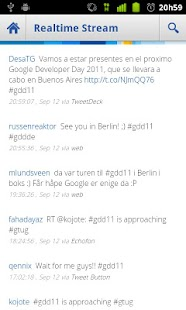 Google Developer Day 2011 - screenshot thumbnail