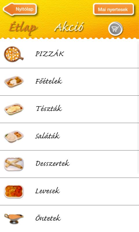 Don Pedro pizza place- screenshot