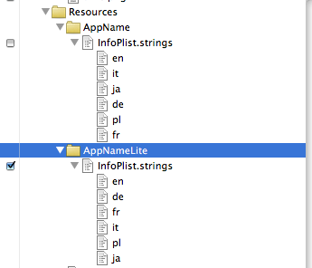 how to create target in xcode
