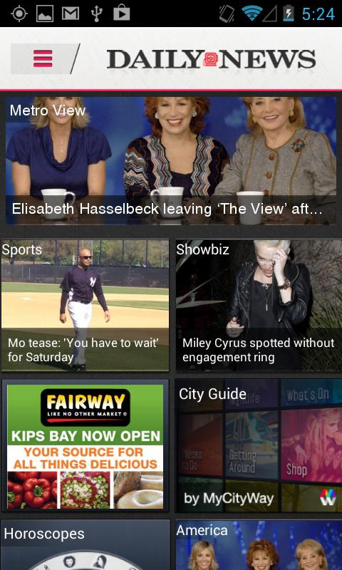 Daily News Mobile- screenshot