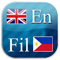 English - Filipino flashcards icon