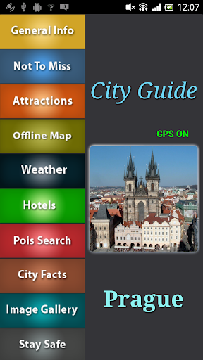 Prague Offline Travel Guide