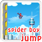 Awesome Spider Boy Jump