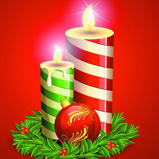圣诞蜡烛动态壁纸 個人化 App LOGO-硬是要APP