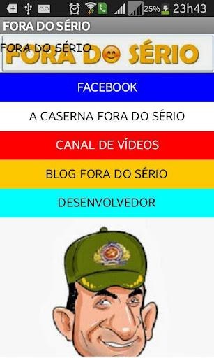 FORA DO SÉRIO