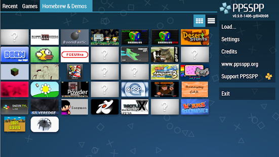 PPSSPP - PSP emulator Screenshot