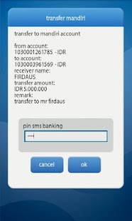 mandiri mobile - screenshot thumbnail